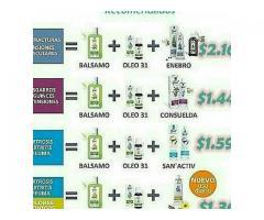 masajes con productos just aromaterapia