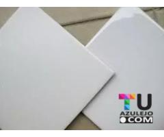 Ceramicas Simil San Lorenzo 20x20 Blanca Semi Mate
