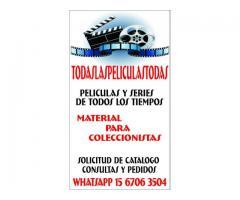 DVD PELICULAS SERIES