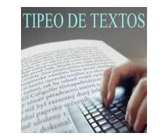 Tipeamos tesis, monografía, tesinas, trabajos prácticos, etc.