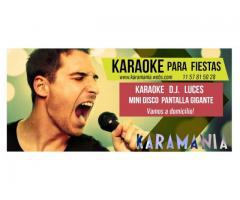 Karaoke y Dj para eventos KARAMANÍA