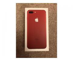 iphone 7 plus (rojo)