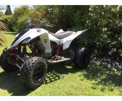 Vendo cuatriciclo Yamaha 350 modelo 2012