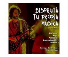 Guitarra - Bajo - Bateria - San Telmo Musica
