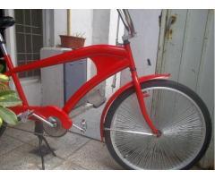 bicicleta playera chopera importada