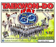 Clases de Taekwondo en Lanus