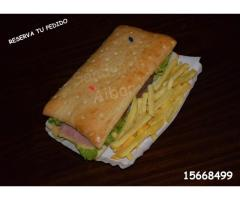 Venta de Sandwich
