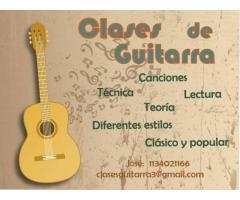 Clases de guitarra en San Isidro, Beccar, Boulogne