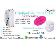Alquiler Criolipolisis lana Meditea