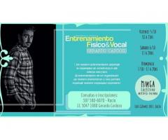 Entrenamiento Físico y Vocal bajo principios de Antropología Teatral